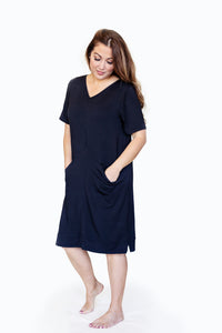Lounge Dress with Pockets