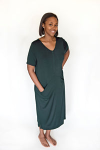 Emerald Green Lounge Dress