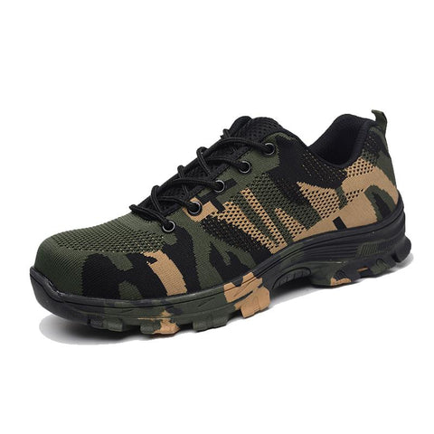 Indestructible Shoes Military Boots Apparel > Male > Shoes > Work Shoes Oak Bay Shoes Camo 9