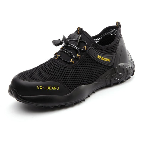 Summer Safety Shoes 2020 Apparel > Male > Shoes > Work Shoes Oak Bay Shoes Black US5.5