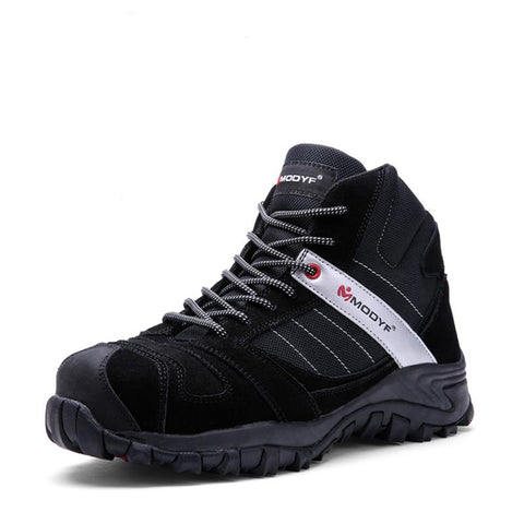Steel Toe Sneakers Work Shoes Apparel > Male > Shoes > Work Shoes Oak Bay Shoes Black 6