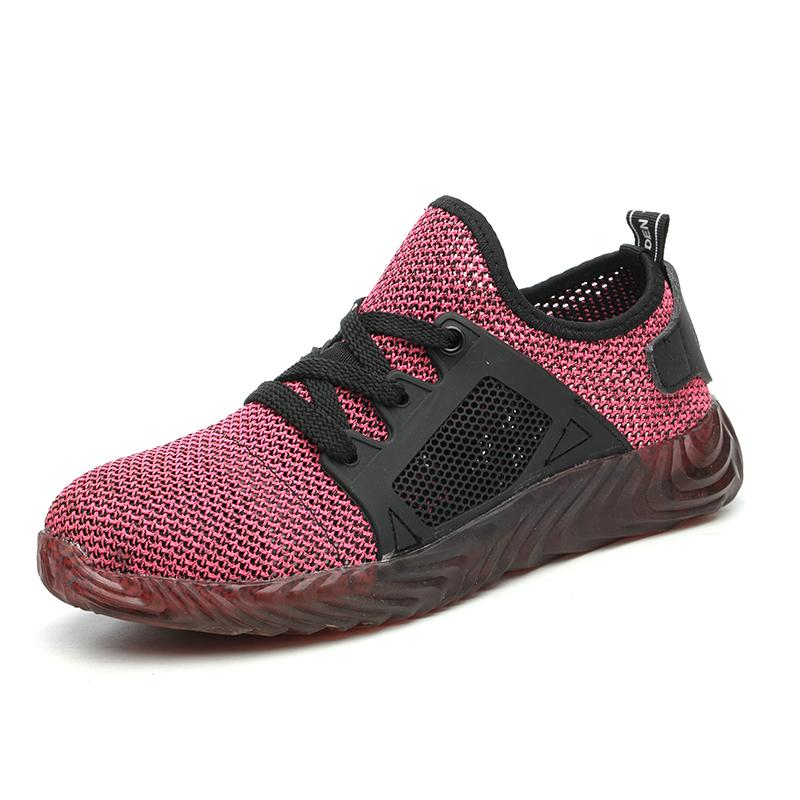 2019 Chic Work Shoes Apparel > Male > Shoes > Work Shoes Oak Bay Shoes Pink Men 4 / Women 3.5