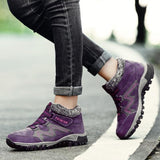 Women's Winter Thermal Villi Leather Platform Fashion High Top Boots Oak Bay Online Store