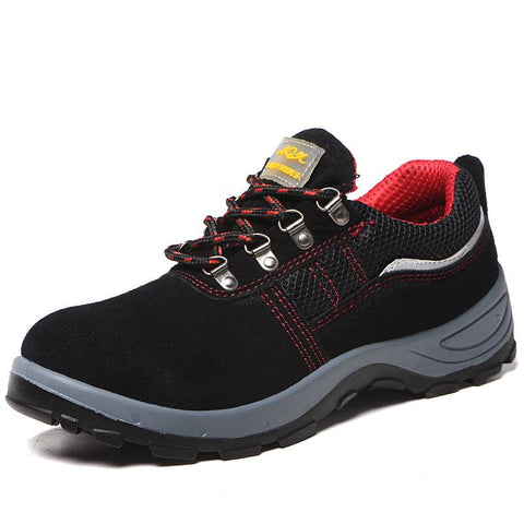 Indestructible Steel Toe Work Shoes Apparel > Male > Shoes > Work Shoes Oak Bay Shoes 5.5 Red