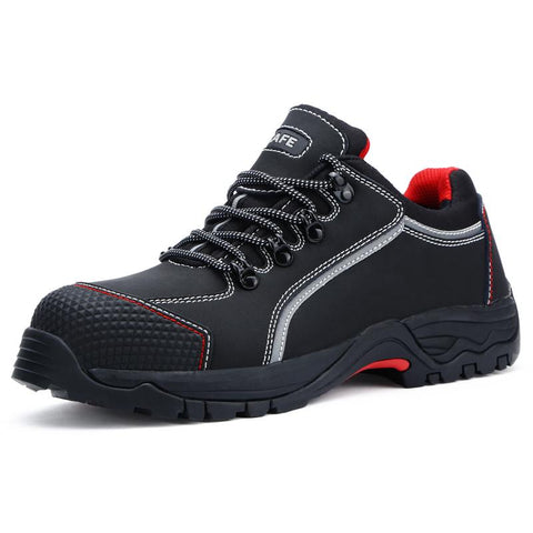 Steel Toe Sneakers For Men Apparel > Male > Shoes > Work Shoes Oak Bay Shoes Black 6