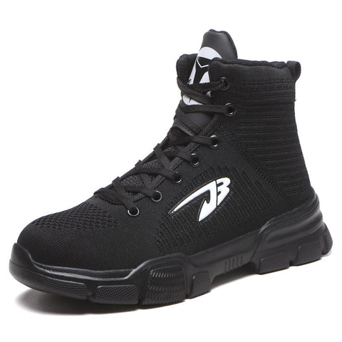 2019 Hot Work Boots Apparel > Male > Shoes > Work Shoes Oak Bay Shoes Black US5.5