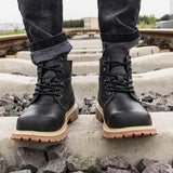 Vintage Martin Boots Apparel > Male > Shoes > Work Shoes Oak Bay Shoes Black US5.5