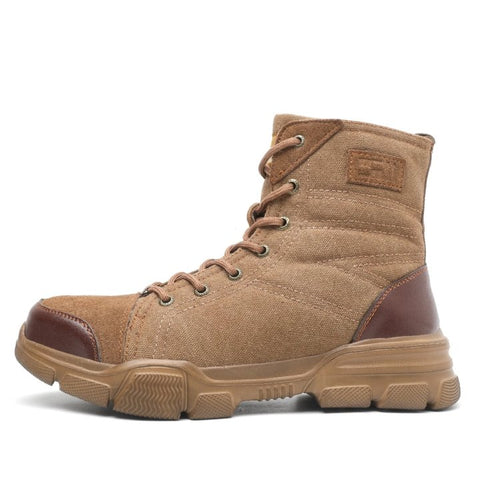 2020 Tactical Safety Boots Apparel > Male > Shoes > Work Shoes Oak Bay Shoes Brown US5.5