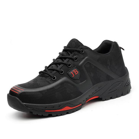 Lightweight Work Shoes Apparel > Male > Shoes > Work Shoes Oak Bay Shoes Black 6