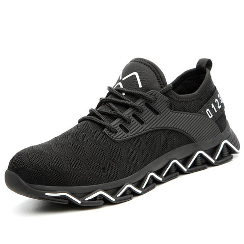 Newer Steel Toe Sneaker Apparel > Male > Shoes > Work Shoes Oak Bay Shoes Black US5