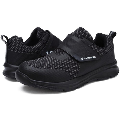 Unisex Black Workout Shoes Apparel > Male > Shoes > Work Shoes Oak Bay Shoes Black 6