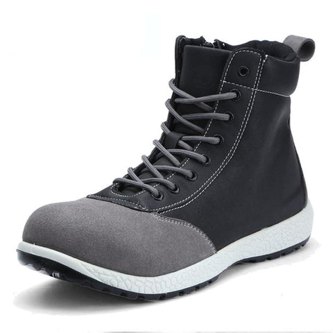 Splice Square Toe Boots Apparel > Male > Shoes > Work Shoes Oak Bay Shoes Black 6