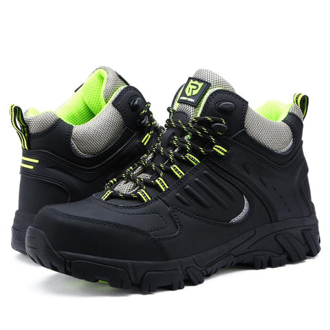 Steel Toe Sneakers Hunting Boots Apparel > Male > Shoes > Work Shoes Oak Bay Shoes Black 6