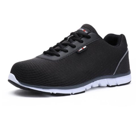 Comfortable Work Shoes Sneakers Apparel > Male > Shoes > Work Shoes Oak Bay Shoes Black 7.5