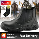 Oakbayshoes Men's Work Boots Black Apparel > Male > Shoes > Work Shoes Oak Bay Shoes