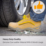 Most Comfortable Work Boots Apparel > Male > Shoes > Work Shoes Oak Bay Shoes 4 Yellow
