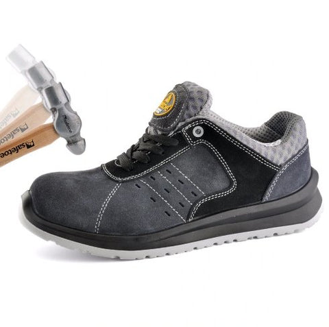 Most Comfortable Work Shoes Apparel > Male > Shoes > Work Shoes Oak Bay Shoes 4 Grey