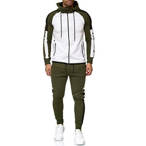 Mens Flora 2 Piece Tracksuit Oakbayshoes Green XS
