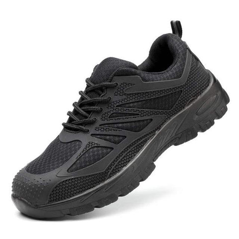 Casual Breathable Work Sneaker Anti-piercing Apparel > Male > Shoes > Work Shoes Oak Bay Shoes Black net 5.5