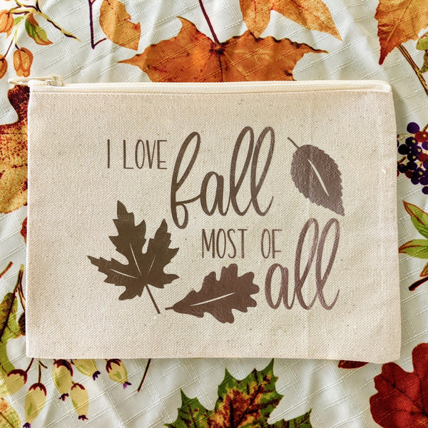 Fall Sample Extravaganza Makeup Bags // 4 Designs - 15 Products!