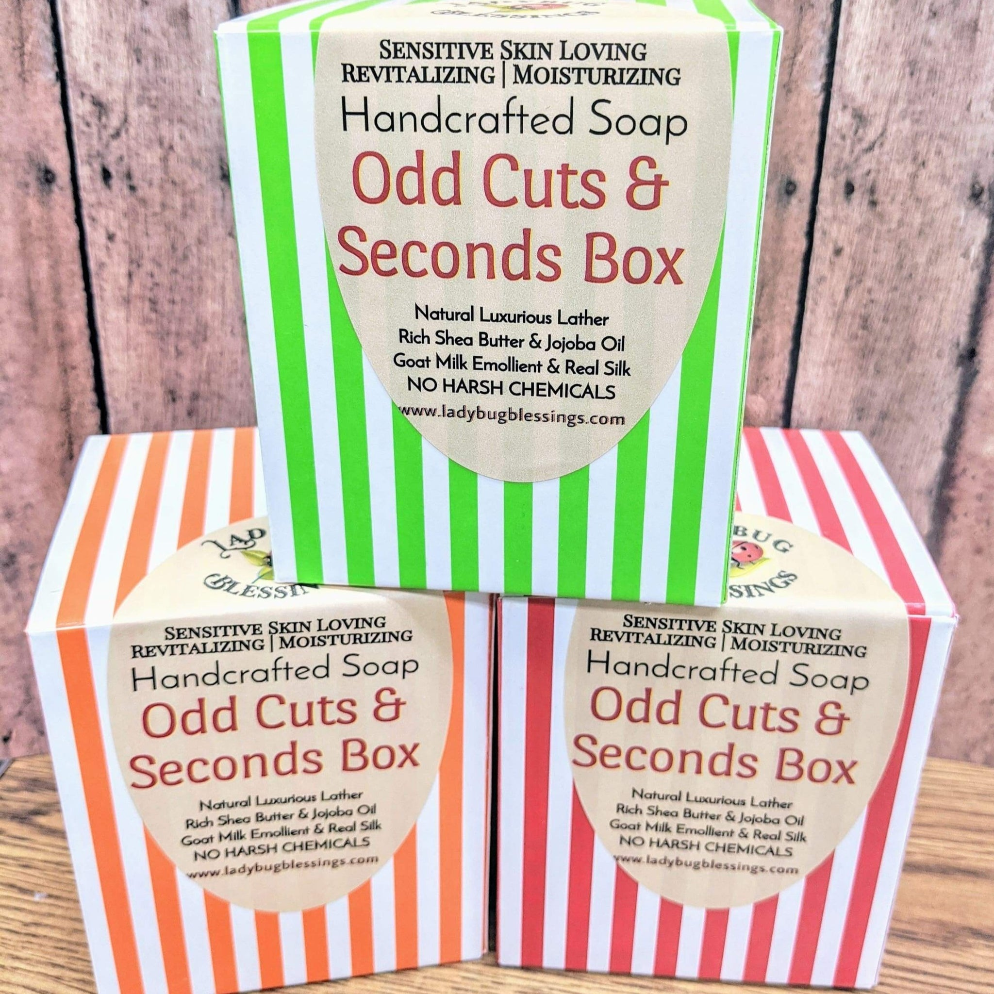 Handcrafted Soap - Ends & Odd Cuts discount Mystery Box!