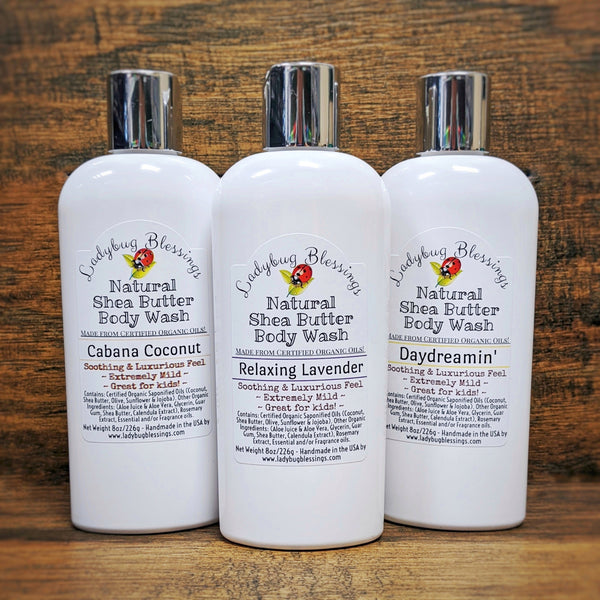 Natural Body Wash - 8 oz