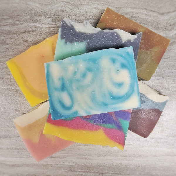 Handcrafted Soap - Just the Bar (NO BOXES)