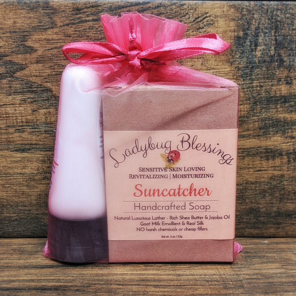 Handcrafted Soap & Hand Cream Gift Set