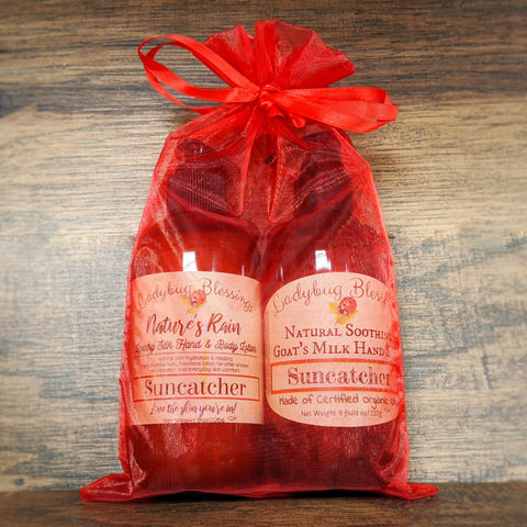 Pump Lotion & Goat's Milk Hand Soap Gift Set