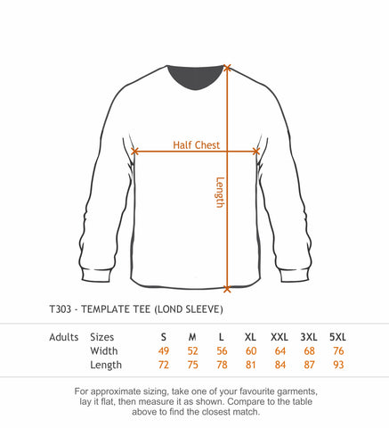 T303 Long Sleeve Tee