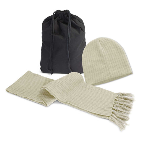 113842 Nebraska Scarf and Beanie Set