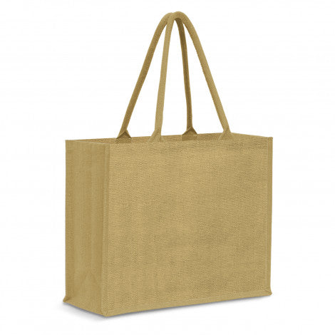 115327 Modena Jute Tote Bag - Colour Match