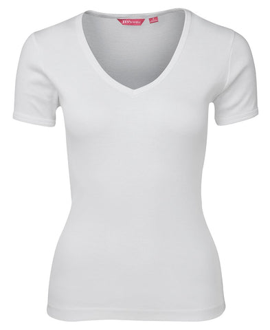 1LV JB's LADIES V NECK TEE