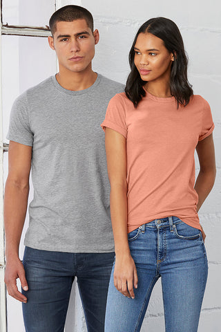 Bella+Canvas Unisex 3001CVC Heather CVC SS Tee