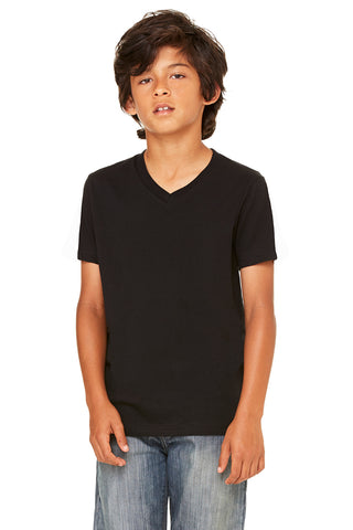 Bella+Canvas Youth 3005Y Jersey Short Sleeve V-Neck Tee