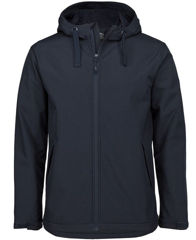 3WSH PODIUM WATER RESISTANT HOODED SOFTSHELL JACKET