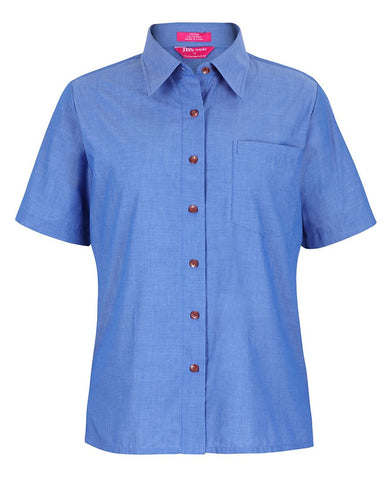4LICS JB's LADIES ORIGINAL S/S CHAMBRAY SHIRT