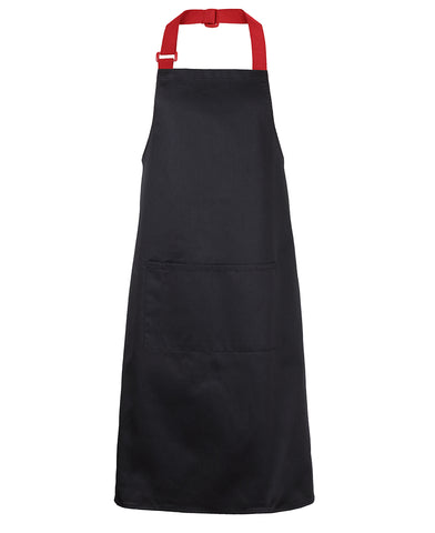 5ACS JB's APRON WITH COLOUR STRAPS 86x93