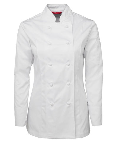 5CJ1 JB's LADIES L/S CHEF'S JACKET
