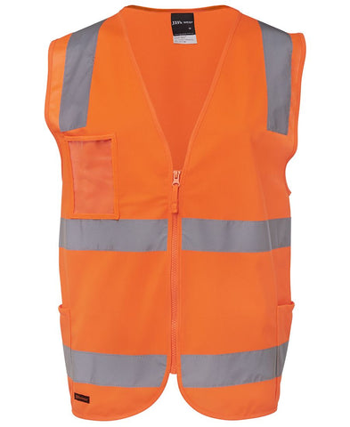 6DNSZ JB's HV (D+N) ZIP SAFETY VEST