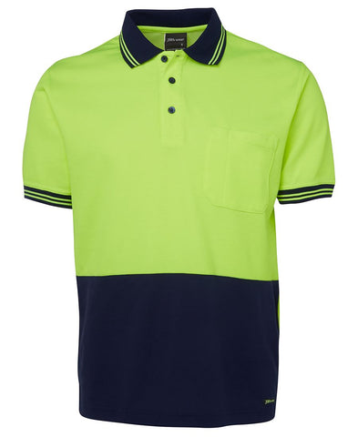 6HPS JB's HV S/S COTTON BACK POLO