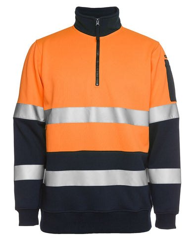 6HZFS JB's BIOMOTION (D+N) 1/2 ZIP FLEECY SWEAT