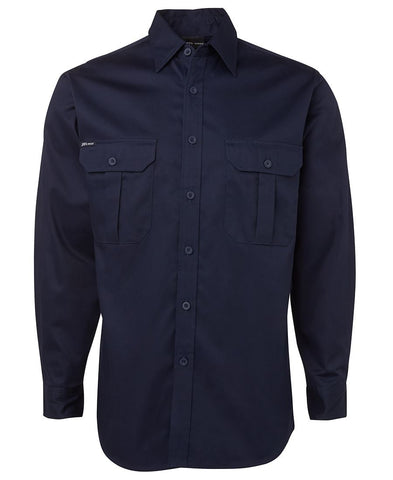 6WLS JB's L/S 190G WORK SHIRT