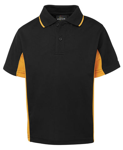7PP3 JB's PODIUM KIDS CONTRAST POLO
