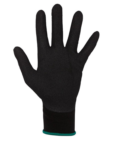 8R002 JB's PREMIUM BLACK NITRILE BRTHABLE GLOVES (12 PK)