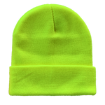 B001 Headwear24 Cuffed Knitted Beanie