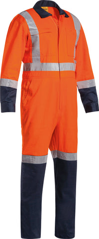 BC6029T Bisley TTMC-W Taped Two Tone Lightweight Coverall - Long