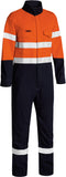 BC8186T Bisley Tencate Tecasafe® Plus 580 Taped Two Tone Hi Vis Lightweight FR Non Vented Engineered Coverall - Regular