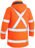 BJ6379XT Bisley TTMC-W Taped Hi Vis Puffer Jacket