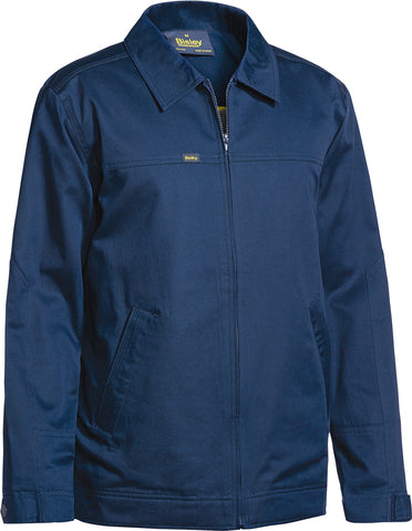 BJ6916 Bisley Cotton Drill Jacket With Liquid Repellent Finish